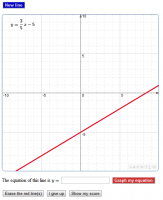 Practice finding the equation of a line
