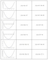 Grouping Students: Quadratic Equations and Graphs